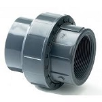 Pond Metric Part Threaded PVC-U Union