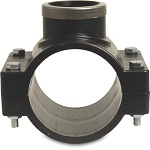 Pond Metric PVC-U Saddle Clamps