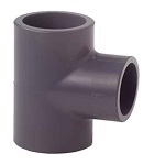 Pond Metric PVC-U 90 Degree Tee Section