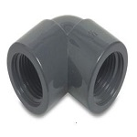 Pond Metric PVC-U Threaded Elbows